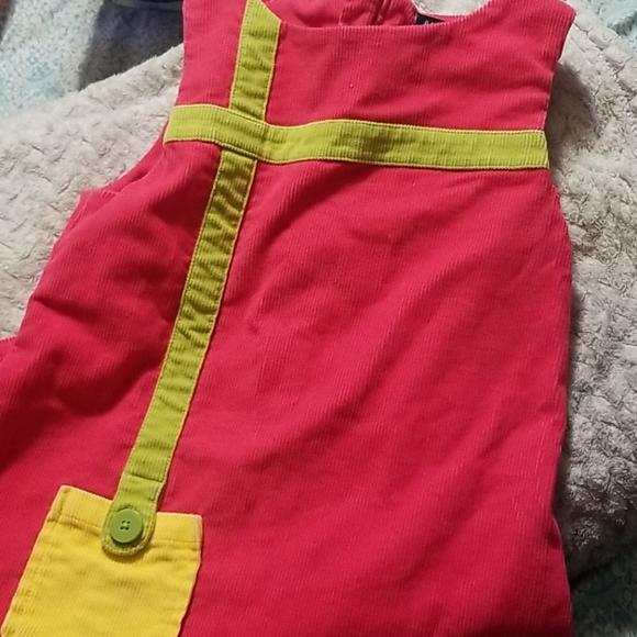 Vintage Kids Sleeveless GAP Corduroy Dress